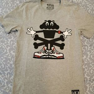 Johnny Cupcakes Fire Red Cupcakes Shirt